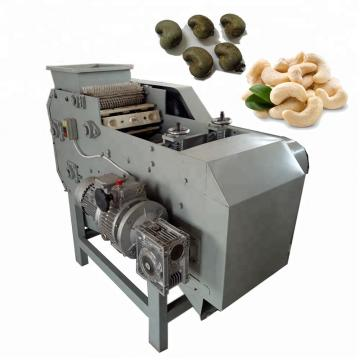 Gas Heated High Quality Salt Coated Peanut Cashew Nuts Walnuts Almond Making Roasting Frying Processing Machine
