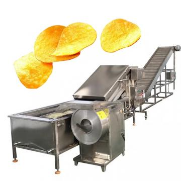 Fully Automatic Industrial Frozen French Fries Production Line Cassava Fresh Finger Potato Chips Making Machine Price